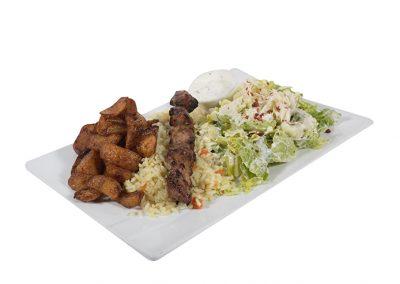 Assiette Souvlaki Porc