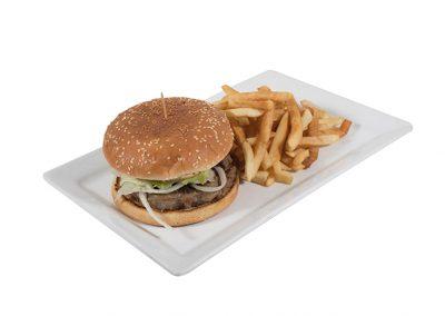 Assiette Hamburger