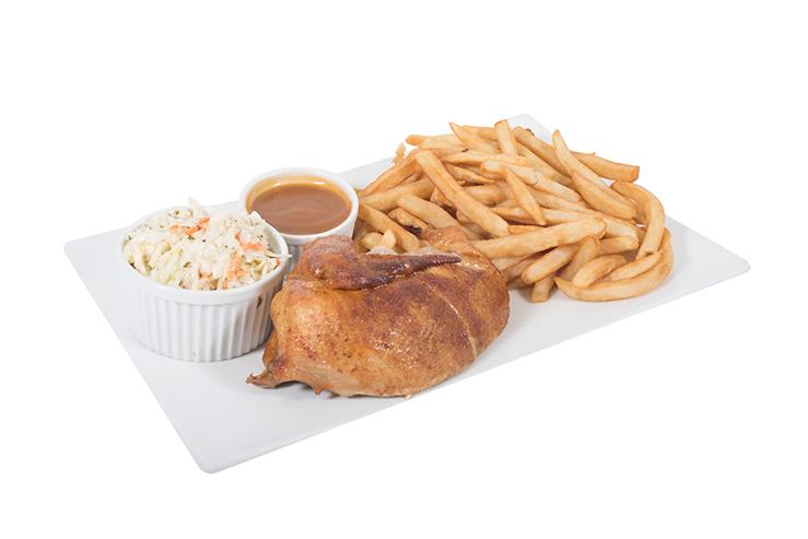 Assiette poitrine de poulet